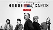 "Netflix today released a stylish trailer for ""House of Cards,"" the Baltimore-made political thriller starring Kevin Spacey and Robin Wright."