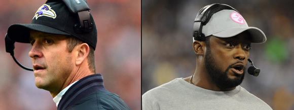 John Harbaugh, Mike Tomlin