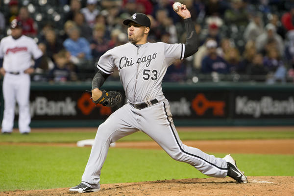 Hector Santiago is a candidate for the 2013 White Sox rotation.