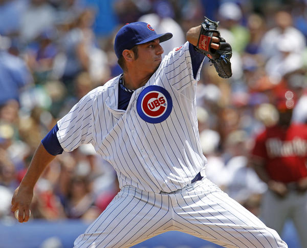 The Cubs got good news on pitcher Matt Garza's elbow.
