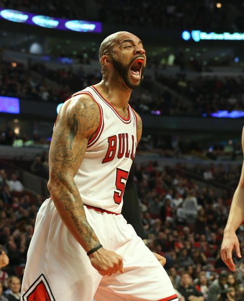 Bulls forward Carlos Boozer says he has thick skin.