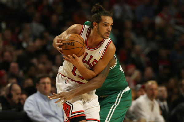 Joakim Noah is averaging a career-best 16 points for the Bulls.