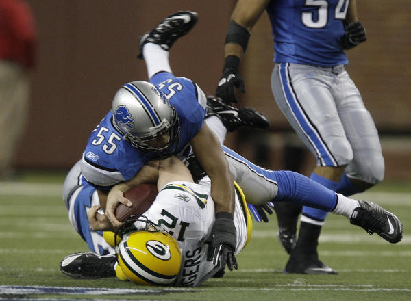 The Lions get another crack at Aaron Rodgers and the Packers on Sunday.