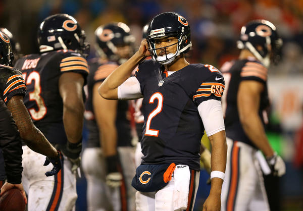 Bears backup quarterback Jason Campbell might be in line for some playing time.