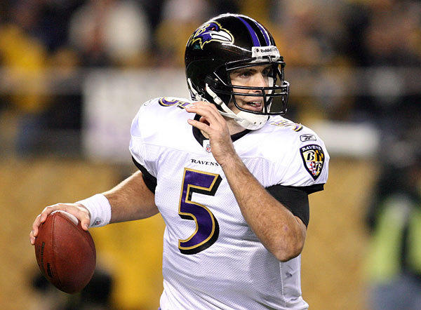 With Ben Roethlisberger injured, columnist Mike Preston says the focus now shifts to Ravens quarterback Joe Flacco.