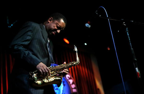 Alto saxophonist Donald Harrison performs at Jazz Showcase on Thursday.