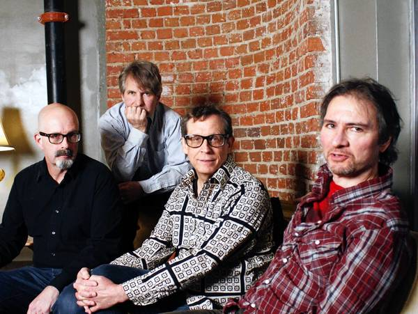 The dB's. From left: Peter Holsapple, Chris Stamey, Will Rigby, Gene Holder.