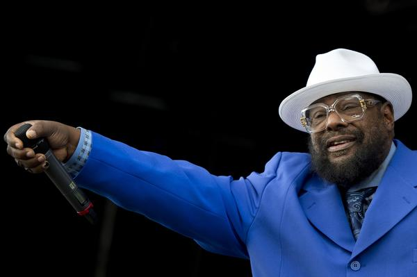 George Clinton performs during the first day of the Hop Farm music festival in Paddock Wood, Kent, on June 29, 2012.