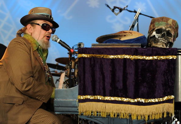 Dr. John performs during the Voodoo Experience 2011 at City Park on October 30, 2011 in New Orleans, Louisiana.