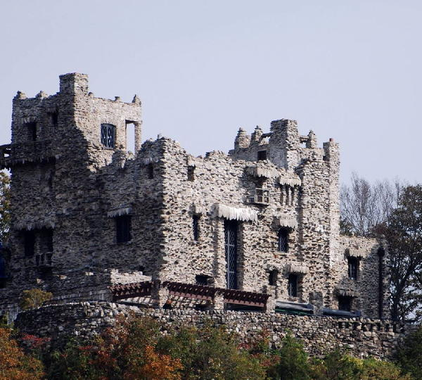 GILLETTE CASTLE and its grounds recently underwent a three-year renovation.