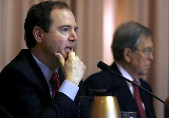 Rep. Adadm Schiff joins a growing chorus of Democratic lawmakers coming to the U.N. ambassador's defense.
