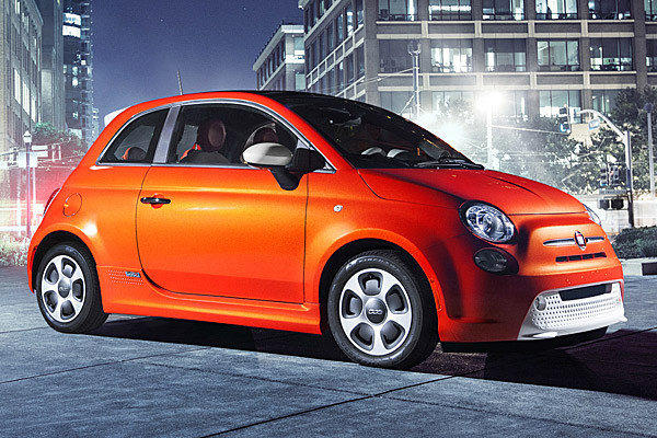 The all-electric Fiat 500e will be one of three new versions of the 500 that Fiat is bringing to the L.A. Auto Show.