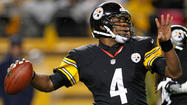 Among the variety of reasons why prognosticators think the Ravens will have the advantage against the Pittsburgh Steelers on Sunday is Byron Leftwich's long windup.