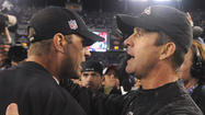 John Harbaugh on Jim Harbaugh's heart procedure: 'He's feeling good, he's back at work from what I understand'