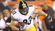 Ravens very familiar with Steelers tight end Heath Miller