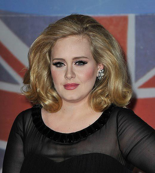 Adele (pictured)<br>     Demi Lovato<br>     Justin Bieber<br>     Katy Perry<br>     P!nk