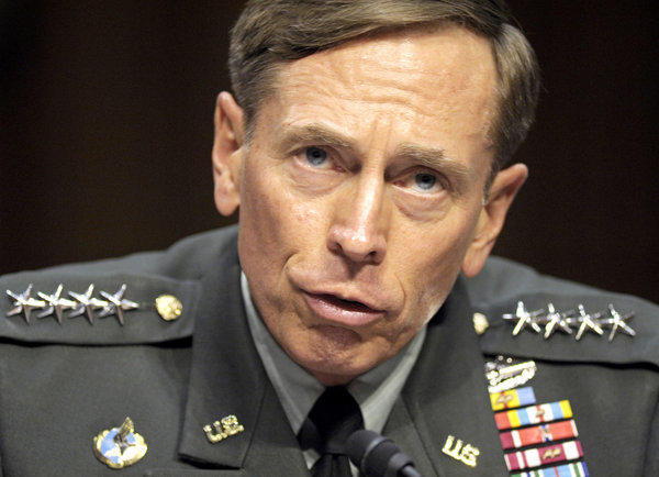 Gen. David Petraeus testifies on Capitol Hill in Washington in June 2011.