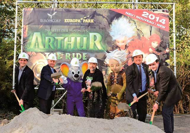 Europa Park unveiled plans for several Arthur and the Invisibles attractions based on the animated movie by French director Luc Besson that will include a roller coaster and a carousel.