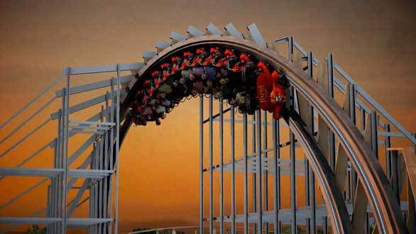 The Hades 360 wooden roller coaster coming to Wisconsin's Mt. Olympus in 2013.