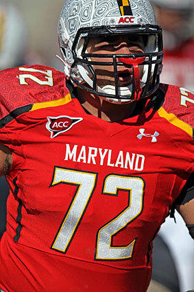 Terps senior defensive lineman Joe Vellano