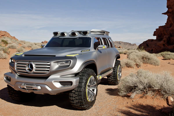 Mercedes-Benz will be one of several automakers using the upcoming Los Angeles Auto Show to look into not only the near future, but also the more distant horizon.