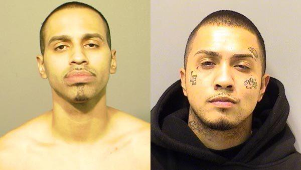 Luis Cotto (Left) was charged with attempted murder and aggravated battery to a prosecutor. Edgar Diaz, (Right) is also charged in the attack that happened in September.