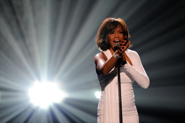 "Whitney Houston performs ""I Didn't Know My Own Strength"" at the 2009 AMAs. It would be one of the singer's last televised performances. She died earlier in 2012."