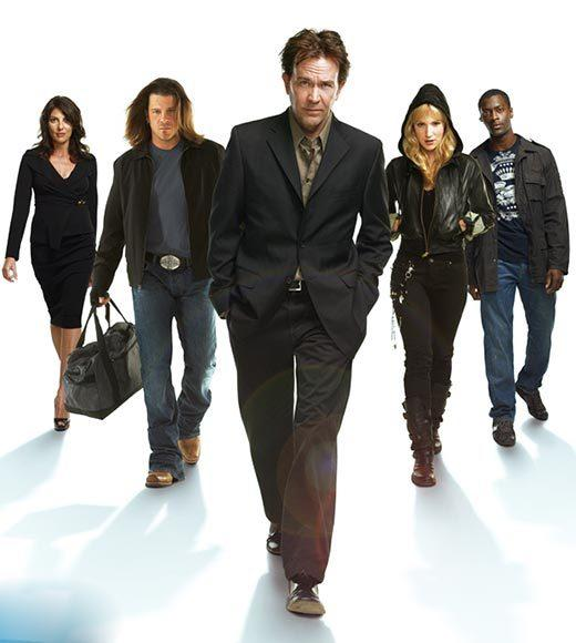 """Burn Notice""<br>     ""Leverage"" (pictured)<br>     ""Pretty Little Liars""<br>     ""The Walking Dead""<br>     ""White Collar"""