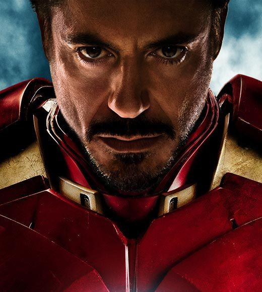 Andrew Garfield as Spider-Man<br>     Chris Evans as Captain America<br>     Chris Hemsworth as Thor<br>     Christian Bale as Batman<br>     Robert Downey, Jr. as Iron Man (pictured)