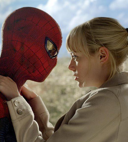 "Emma Stone / Andrew Garfield, ""The Amazing Spider-Man"" (pictured)<br>     Jennifer Lawrence / Josh Hutcherson / Liam Hemsworth, ""The Hunger Games""<br>     Kristen Stewart / Chris Hemsworth, ""Snow White and the Huntsman""<br>     Rachel McAdams / Channing Tatum, ""The Vow""<br>     Scarlett Johansson / Jeremy Renner, ""The Avengers"""