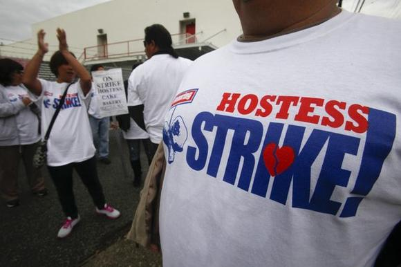 Hostess strike