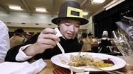 Photo Gallery: Thanksgiving feast for 5th graders at La Canada Elementary