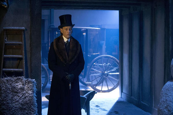 "Richard E Grant stars as the Doctor's latest nemesis, Doctor Simeon, in ""The Snowmen."""