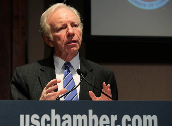 Sen. Joe Lieberman, who is finishing his fourth and final term in the Senate, has been in the middle on some of the big issues of our time.