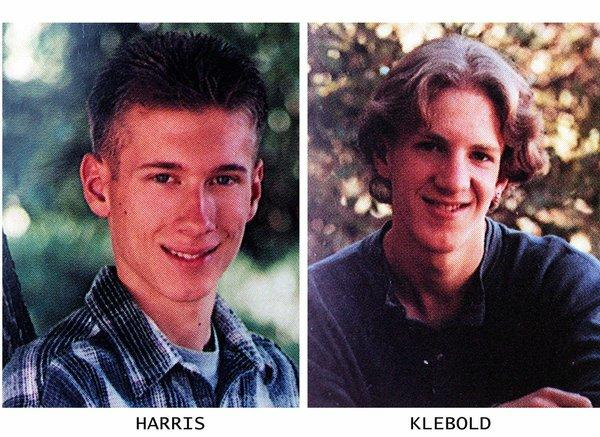 Eric Harris and Dylan Klebold, here in yearbook photos, killed 12 classmates and one teacher and then themselves at Columbine High School in Littleton, Colo., in 1999.