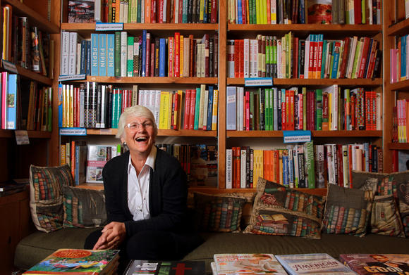 Roberta Rubin, owner of The Book Stall at Chestnut Court