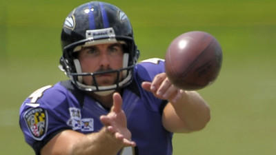 Three questions with Ravens holder/punter Sam Koch
