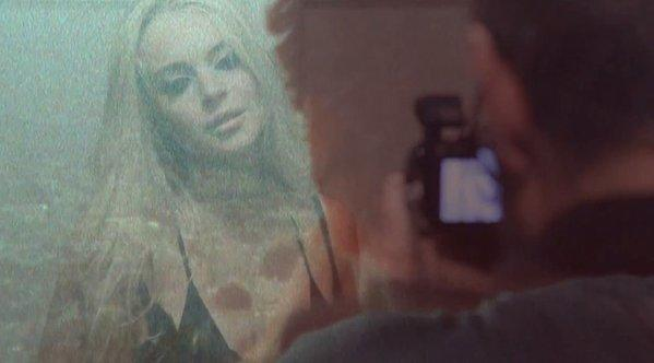 Lindsay Lohan stars in a new R.E.M. music video directed by James Franco.