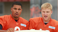 You might think Josh McCown won't be around long enough for his cup of coffee to stop steaming.