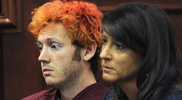 James E. Holmes, the suspect in the Aurora, Colo., theater massacre, appears in court July 23. He no longer has the orange hair.