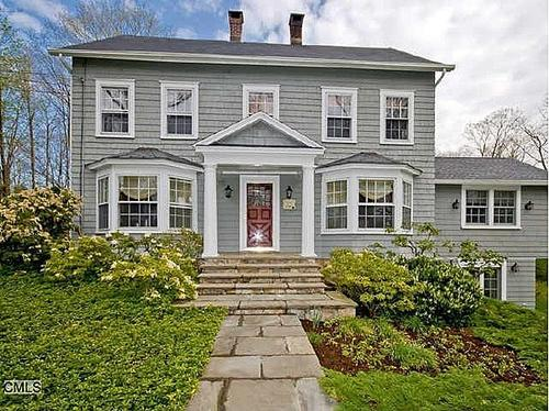 This historic 4-bedroom, 4.5-bathroom Wilton home, built in 1780, is currently listed for $1.049 million.