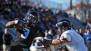 On Saturday, Johns Hopkins managed to do something it had never done in the history of it's football program. The Blue Jays won a home playoff game, defeating Washington & Jefferson, 42-10, in the first round of the Division III tournament at Homewood Field.