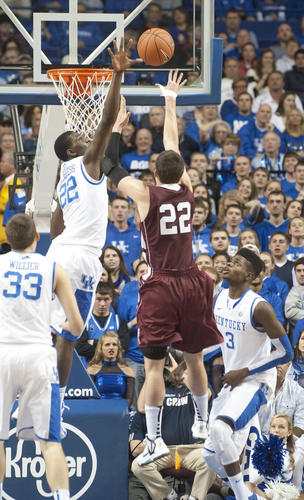 Photo Gallery: Kentucky basketball vs. Lafayette 111612