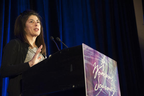 Dr. Laura Herrera speaks at women's health conference