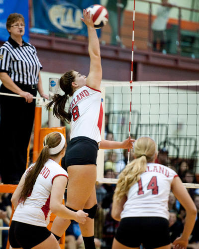Parkland vs Hempfield in the PIAA Class AAA girl's volleyball championship match at Central York High School in York, Pa. on Saturday, November 17, 2012.