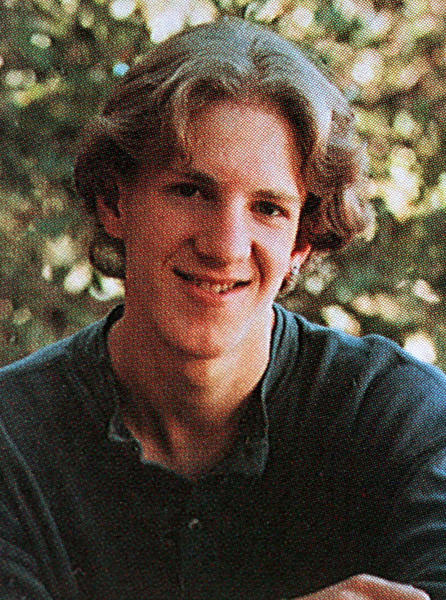 Columbine High School student Dylan Klebold is pictured in the 1999 Columbine High School yearbook.