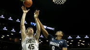 BROOKLYN, N.Y. -- The goal of Brigham Young and No. 20 Notre Dame in Saturday's consolation game of the Coaches vs. Cancer Classic at Barclays Center was to salvage something positive from a weekend that wasn't going to work out the way anyone had planned.
