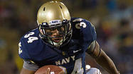 Copeland carries load for Midshipmen