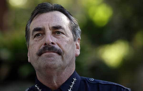 LAPD officials have confirmed that Police Chief Charlie Beck is seeking to have four officers fired, including one who used a stun gun on a handcuffed woman.