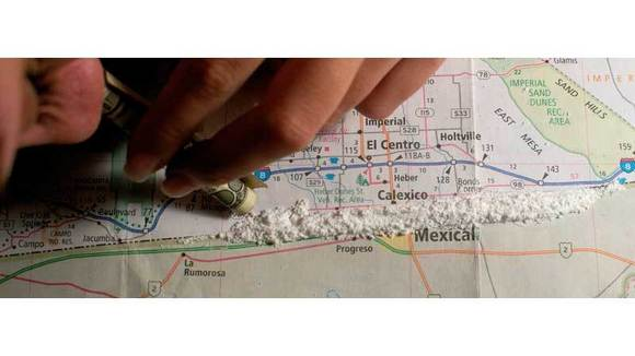 The Imperial Valley is considered one of the top three cocaine trafficking corridors in the United States.